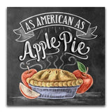 As American As Apple Pie Blackboard - Diamond Art Kit