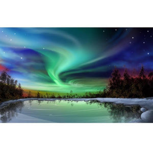 Aurora Borealis - Diamond Art Kit