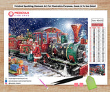 Christmas Train - Diamond Art Kit