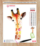 Colorful Giraffe 6 - Diamond Art Kit