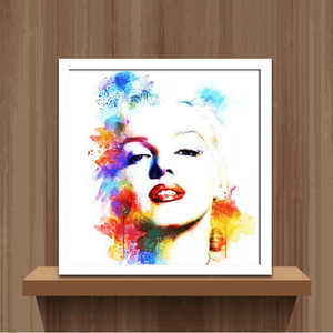 Colorful Marilyn Monroe - Diamond Art Kit