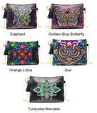 Collection Of Small Leather Crossbody Bags With Chain - Diamond Painting