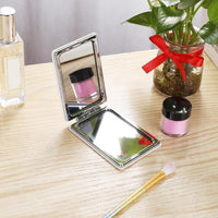 Portable Compact Makeup Foldable Mirror With DIY Diamond Art