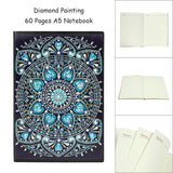 A5 Notebook With Diamond Art Cover (60 Pages)