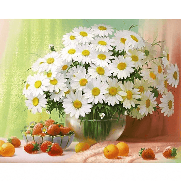 Daisies With Fruit