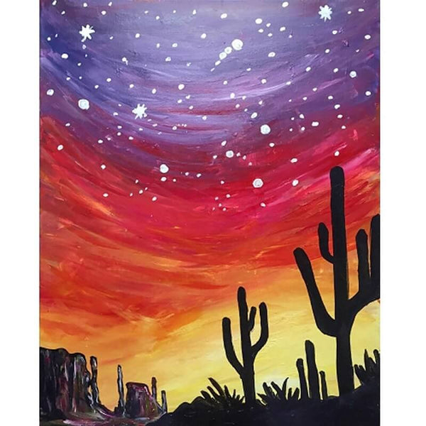 Desert Sky - Diamond Art Kit