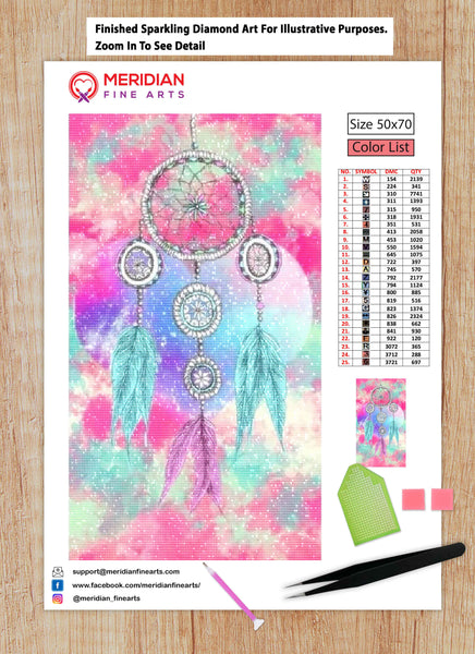 DreamCatcher 1 - Diamond Art Kit