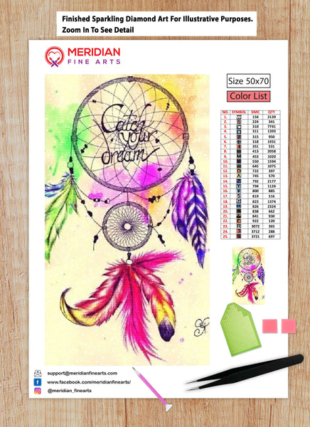 DreamCatcher 7 - Diamond Art Kit