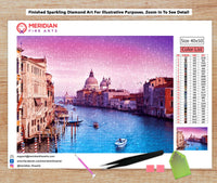 Early Sunrise in Venice - Diamond Art Kit