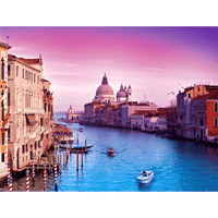 Early Sunrise in Venice with Basilica di Santa Maria della Salute
