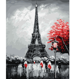 Eiffel Tower in Autumn - Paint by Numbers Kit