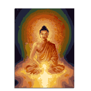Enlightened Buddha - Paint by Numbers Kit
