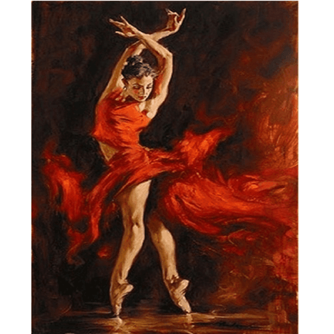Flamenco Dancer - Diamond Art Kit