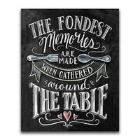 Fondest Memories Blackboard - Diamond Art Kit