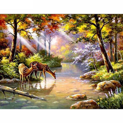 Forest River - Diamond Art Kit