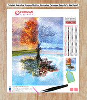 Four Seasons Tree - Diamond Art Kit