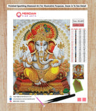 Ganesha Blessings - Diamond Art Kit