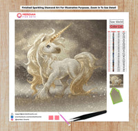 Golden Unicorn - Diamond Art Kit
