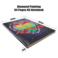Diamond Painting A5 Notebook (64 Pages)