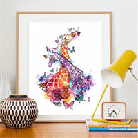 Colorful Giraffe 3