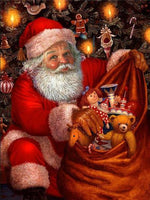 Santa's sack full of presents