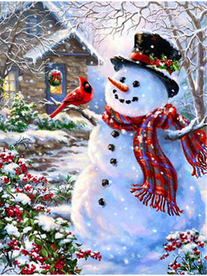 Snowman Collection 1 - Diamond Art Kit