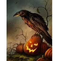 Halloween Raven - Halloween Collection Diamond Art