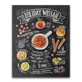 Holiday Wassail Blackboard - Diamond Art Kit