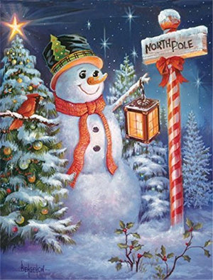 Snowman Collection 3 - Diamond Art Kit
