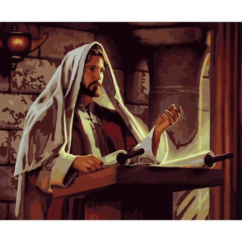 Jesus Christ the Preacher - Paint by Numbers Kit