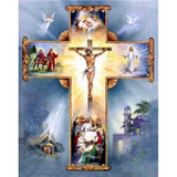 Jesus Cross - Diamond Art Kit