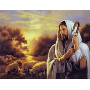 Jesus the Good Shepherd - Paint by Numbers Kit