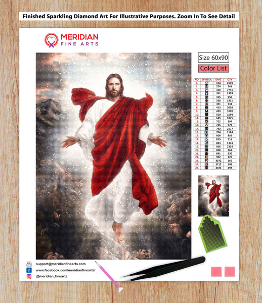 Jesus of Nazareth - Diamond Art Kit
