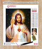 Jesus the Compassionate - Diamond Art Kit
