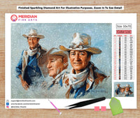 John Wayne Montage - Diamond Art Kit