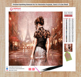 Lady in Paris - Diamond Art Kit