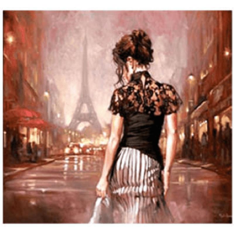 Lady in Paris