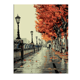London Southbank in Autumn - Paint by Numbers Kit