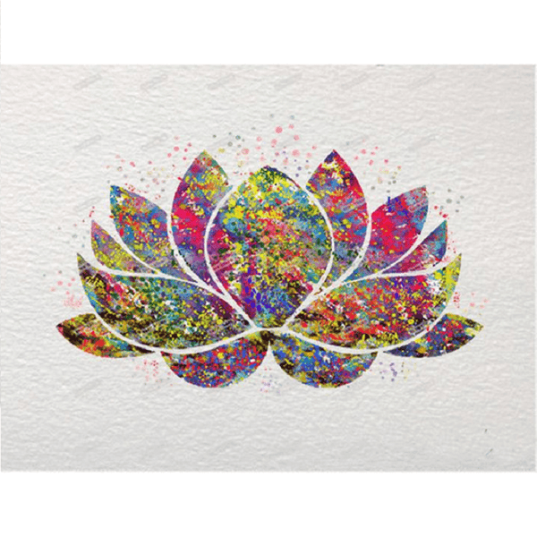 Lotus Flower - Diamond Art Kit