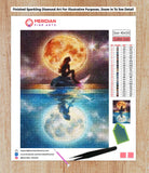 Moon Sea Mermaid - Diamond Art Kit