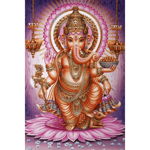 Radiant Ganesha - Diamond Art Kit