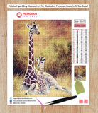 Relaxing Giraffes - Diamond Art Kit