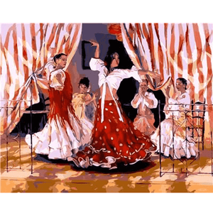 Spanish Dancers - Paint by Numbers Kit