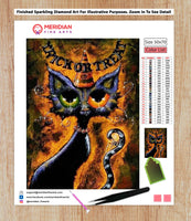Trick or Treat Kitty - Diamond Art Kit