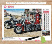 Two Harley's For The Road - Diamond Art Kit
