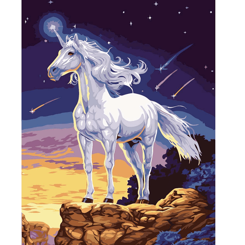 Unicorn - Paint by Numbers Kit