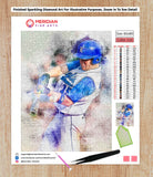 Baseball Batter - Diamond Art Kit