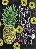 Be A Pineapple - Diamond Art Kit