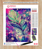 Feathers Delight - Diamond Art Kit