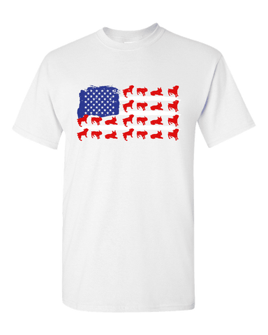 Pitbull Flag Unisex T-Shirt
